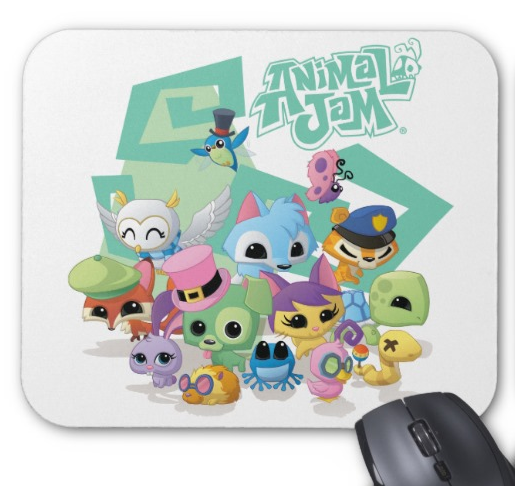 Animal_Jam_Mousepad