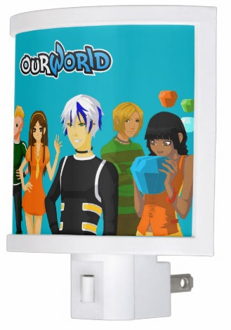 OurWorldCustomNightLight