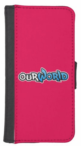 OurWorldCustomiPhone5-5SWalletCase