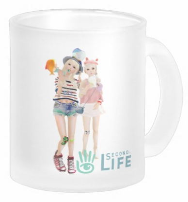 SecondLifeCustomFrostedMug