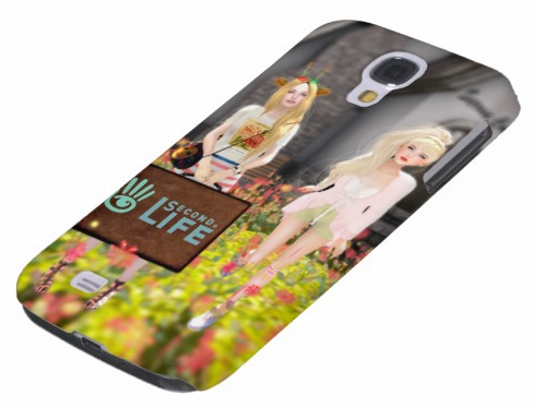 SecondLifeCustomGalaxyS4Case
