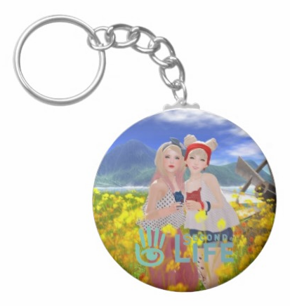 SecondLifeCustomKeyChain