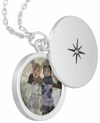 SecondLifeCustom_SilverPlatedRoundLocket