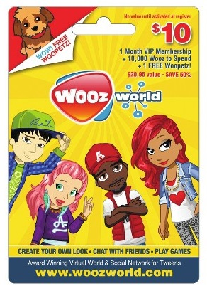 Woozworld Gift Card