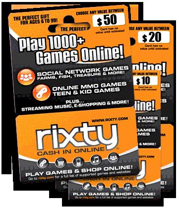 rixty-card