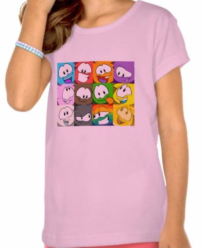 ClubPenguinPuffleExpressionsT-Shirt