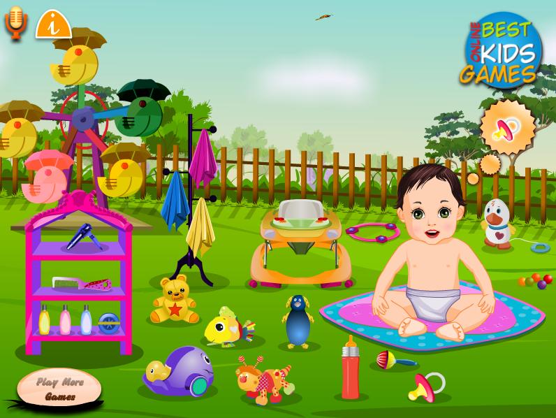 Garden_Baby_Bathing