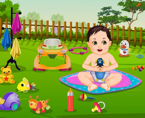 Garden_Baby_Bathing1