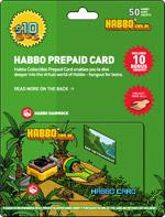 Habbo Prepaid Card