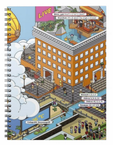 HabboHotelCustomNotebook