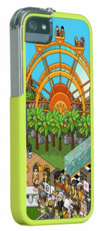 HabboHotelCustomiPhone5-5SYellowCase
