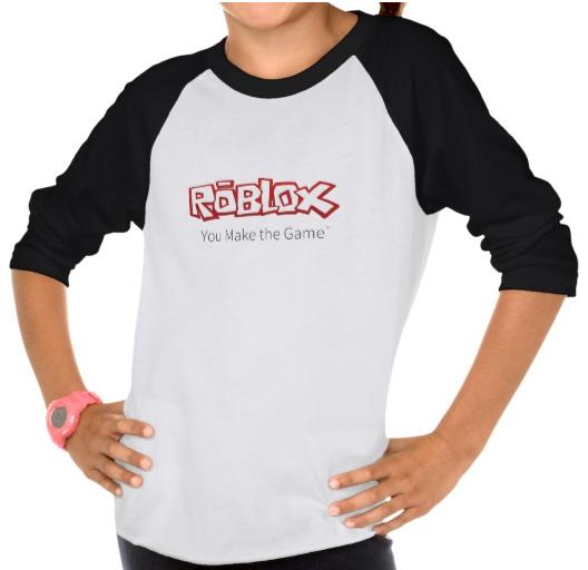 ROBLOXLogoGirl'sRaglanShirt