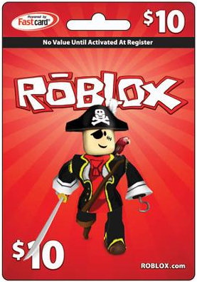 Roblox $10 Game Card