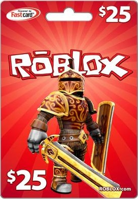 Roblox 25USD Game Card