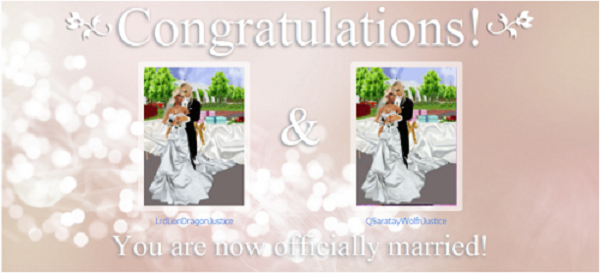 IMVU Officially Married