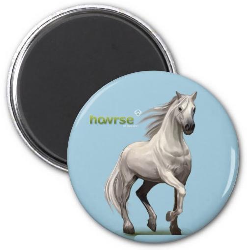 Howrse_Round_Magnet