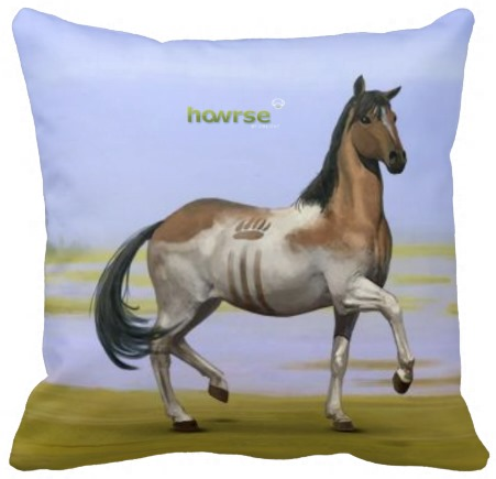 Howrse_Throw_Pillow