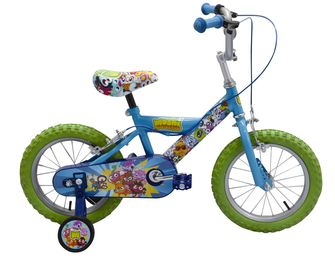 Moshi Monsters 14 inch BMX-Style Bike