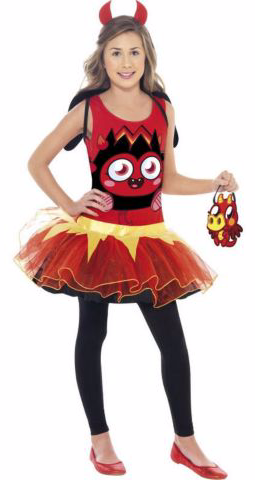 Moshi Monsters Diavlo Tutu Costume
