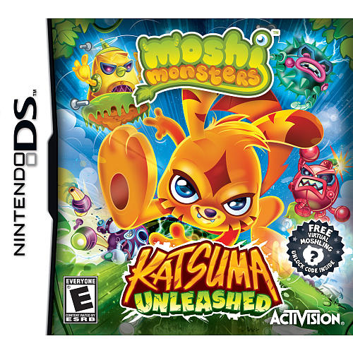 Moshi Monsters - Katsuma Unleashed for Nintendo DS