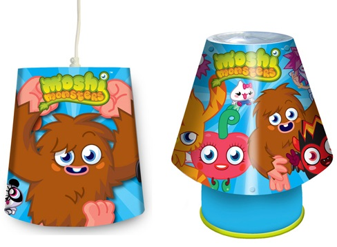 Moshi Monsters Light Shade & Kool Lamp Lighting Set