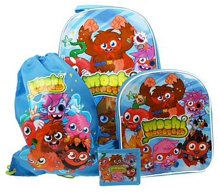 Moshi Monsters Luggage Set