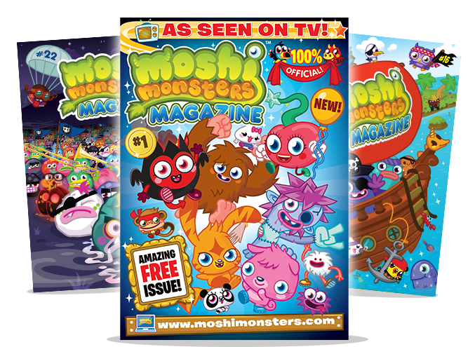 Moshi Monsters Magazines
