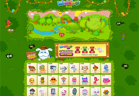 Moshi Monsters Moshlings iOS