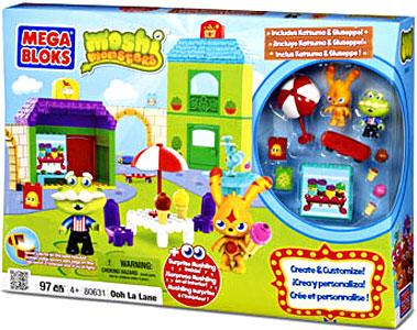 Moshi Monsters Ooh La Lane Set Mega Bloks