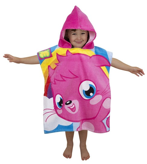 Moshi Monsters Poppet Hooded Towel Poncho