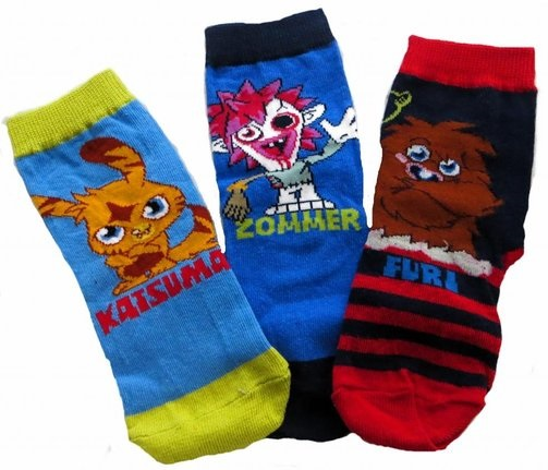 Moshi Monsters Socks