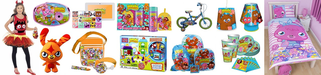 Moshi Monsters Store - Fan Gear, Gift Certificates, Guides and More_1280x302