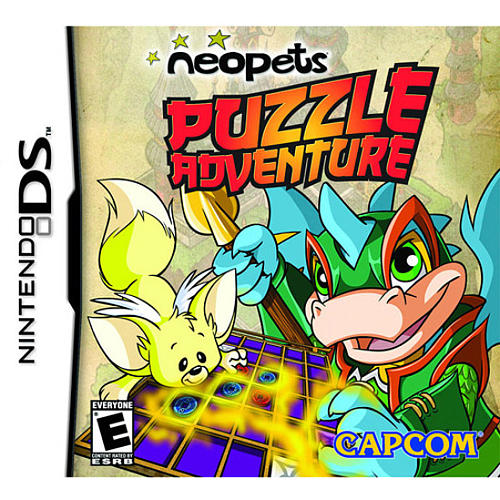 Neopets Puzzle Adventure for Nintendo DS