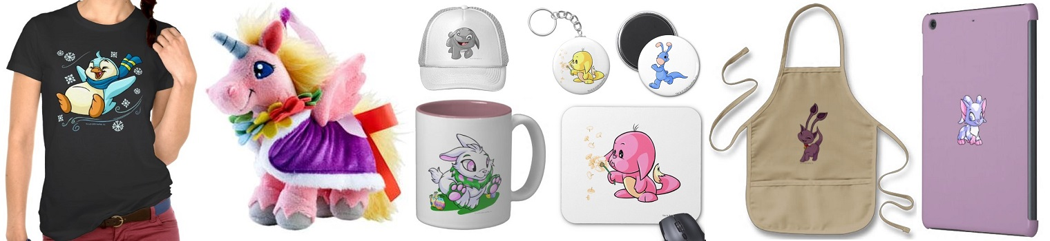 Neopets Store – Fan Gear, Guides, Gift Certificates and More
