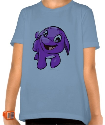 Neopets Team Poogle Purple Tees