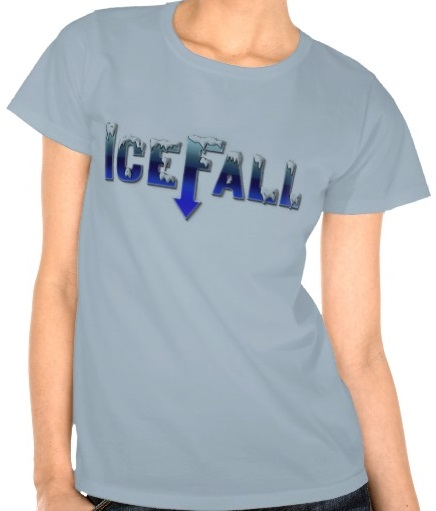 Onverse IceFall Logo Tee