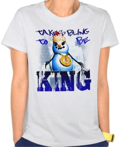 Onverse Takes Bling to be King T-Shirt