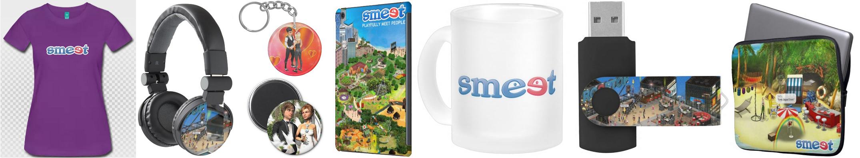 Smeet Store – Merchandise