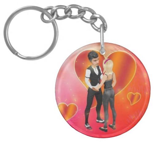 Smeet_Acrylic_Keychain