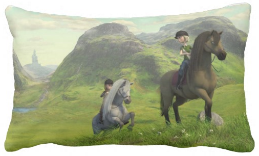 Star_Stable_Throw_Pillow