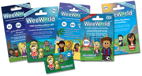 WeeWorld Cash Cards