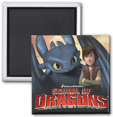 School_of_Dragons_Magnet