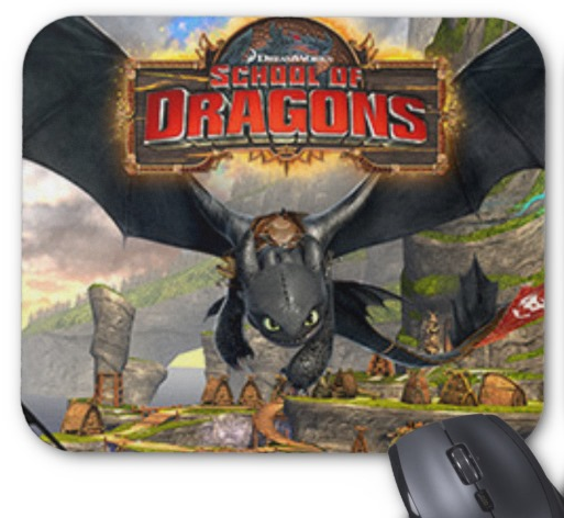 School_of_Dragons_Mousepad