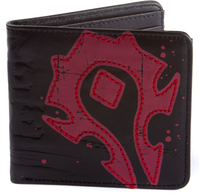 World of Warcraft Horde Crest Leather Wallet