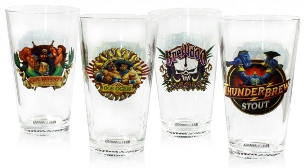 World of Warcraft Pint Glasses