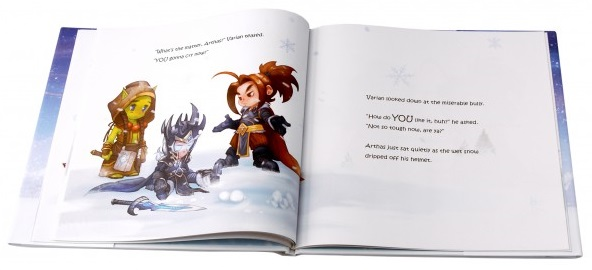 World of Warcraft Snow Fight Children's Book