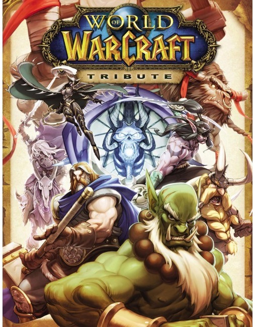 World of Warcraft Udon Art Book