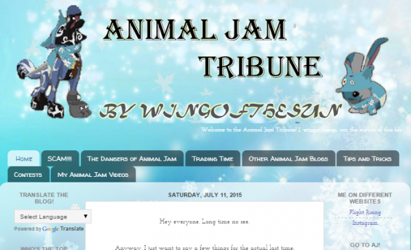 Animal_Jam_Tribune