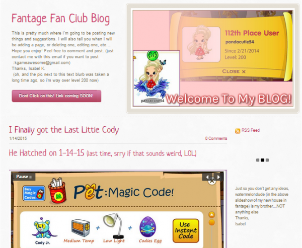 Awesome_Fantage_Fan_Club_Site