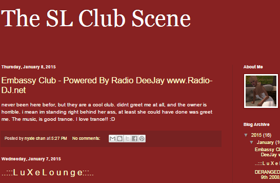 The_SL_Club_Scene